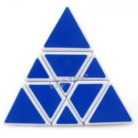 plastic cube - 2015 Brand New Yong Jun YJ Xuan Bian Pyraminx Tower Magic Cube Puzzle Cubes Educational Toy Special Toys