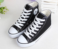 Wholesale 2015 New boys and girls High help canvas casual shoes Children s shoes Single shoes