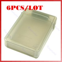 Wholesale Gray Portable HDD Storage Box Store Tank Protection Case for inch Hard Drive order lt no track