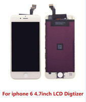 assembly line - AAA Quality for iPhone LCD No defects No Lines Display Touch Digitizer Touch Screen with Frame Full Assembly Replacement for iPhone DHL