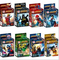 Wholesale 2016 Hot new High quality Fancy assembling lego toys The avengers alliance superhero tsai series brand with S