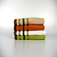 Wholesale Bamboo fiber towels face towels adult children generic small square cm color options