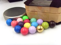 Wholesale Harmony Bola Ball Mixed Colorful Metal Copper Bells mm Belly Ball Fit for Locket Pendant Accessories