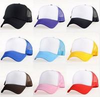truck caps - DIY Truck Caps Colors Womens Men Baseball Hat Sport Snapback Hat Sun shade Unisex Retail Hand Painted