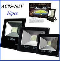 Wholesale 2016 Hot Sales W W W Outdoor Waterproof Led Floodlights Warm Cool White IP65 Led SMD5730 Flood Lights V
