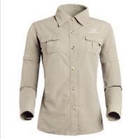 uv t-shirt - Tectop outdoor women shirts long sleeve nylon quick dry hiking shirts anti uv t shirts women detachable sleeves