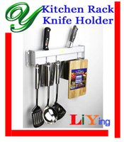 aluminum kitchen utensils - kitchen storage rack knife storage holders wall hooks hanger cm silver aluminum corner hanging shelf bracket utensil organizer knife block