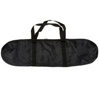 Wholesale Portable Anti abrasion Skateboard Bag Outdoor Strong Lightweight Skateboard Carry Bag Scooter Accessories Black