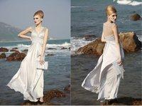 Cheap New High Fashion Sheer A Line Evening Dresses Zuhair Murad V Neckline Beaded Sequins Sleeveless Length Formal Gowns Runway Dress New Top