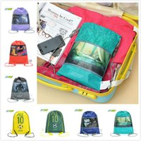 Wholesale Travel Makeup Bag Women Storage Bags Fashion Cosmetic Organizer Shoes Brand Containers cm Cartoon Backpack Cases U1007