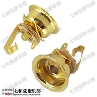 Wholesale Golden electric guitar socket TL jack output connecting hole