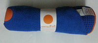 Wholesale Blue Yogitoes Skidless Yoga Towel Hot Yoga MAT Towel Silicon Nubs quot x68 quot Brand New
