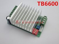 Wholesale New CNC Single Axis TB6600 A Two Phase Hybrid Stepper Motor Driver Controller Board Factory outlets