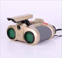 al por mayor spy telescope-Visor ajustable Spy Seguridad Alcance de alta definición telescopio binocular de envío gratuito nocturna por infrarrojos profesional prismáticos de la visión 3x40