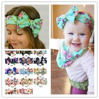 Wholesale 2016 brand new colors Baby Kids Girl Flower Bow Hairband Turban Knot Headband Headwear NEW Hair Accessories