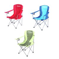 Wholesale New Portable Outdoor Folding Chair Fabric Chair For Fishing Beach Back Yard Patio Lawn Camping Camp Blue Red Green order lt no track