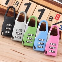 backpacks stores - Worldwide Store Combination Code Number Lock Padlock For Luggage Zipper Bag Backpack Handbag Suitcase