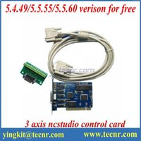 Wholesale PCI axis Nc studio control card system English verison