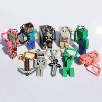 minecraft - Minecraft figure Minecraft Hanger Series Set of Minecraft Hanger Keychain ORIGINAL with retail Package