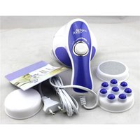 Wholesale 1set in Professional Body Sculptor Massager Relax Spin Tone V High Quality Slim Massager Slimmer Relax Full Body