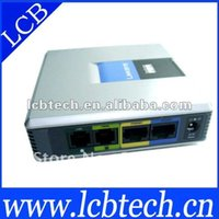 Wholesale Unlocked Linksys VOIP gateway Spa3102 VOIP Telephone Gateway Adapter with FXS and FXO Port
