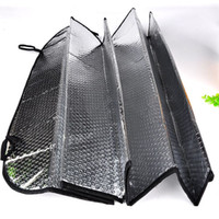 Wholesale Foldable Car Auto Wehicle Front Rear Windshield Sunshade Sun Shade with Suction Cup Car Accessories Y60 QP0031 M5