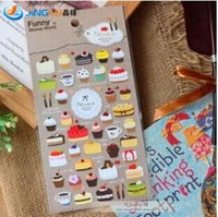 Wholesale Pack Korea Sent Straight Funny Special Paper Decorative Cake