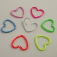 aqua neon - 18G neon Color Heart Shape Earring Nose Ring Tragus Piercing Nipple Labret Anodized Seamless Endless Tragus Cartilage Hoop Ring