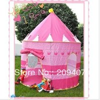 Wholesale 50set Childern kids Playing Indoor Outdoor Toy tent Pink Palace Tent Castle