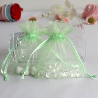Wholesale 50Pcs Multi Colors quot x quot x7cm Organza Candy Bags for Wedding Party Jewelry Packing Gift Favors Pouch Bags PUH