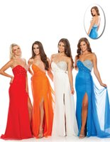 Cheap Crystals Prom Dresses Best Backless Evening Dress