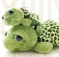 apartments orange - Christmas gifts cm Love apartment lovely big eyes small turtle tortoise doll plush toys Birthday Christmas gift X9