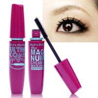 Wholesale 2015 New arrival Hot sale best quality Black Mascara Volume Curling Eyelash Extension Grower Long Fiber Makeup Cosmetic Mascar