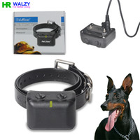 Wholesale Brand New ELECTRIC SHOCK VIBRATE REMOTE Rechargeable And Waterproof Colla DOG TRAINING COLLAR TRAINER PET