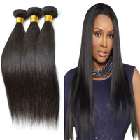 outre - Thick and Full End Brazilian Straight Hair Weft Bundles Outre Human Hair Premium Silky Straight Weaving A Brazilian Virgin Hair Weaves
