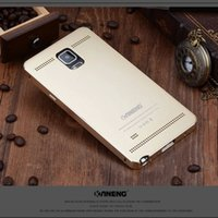 armor all - For Samsung Galaxy Note S4 S5 NEW Armor Luxury all Metal Aluminum Case Cover