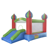 inflatable games inflatable bouncer - YARD home use inflatable bouncer bounce house bouncy castle jumper moonwalk trampoline toys game with blower