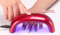 Wholesale 2015 ABS USB power supply mini Portable W LED CCFL Nail Dryer Curing Lamp Machine Nail Art Tools Care for UV Gel Nail Polish