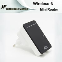Wholesale Wireless N Mini Router Wireless Repeater Internet Connection With WiFi Repeater Mbps Wireless Transmission Rate For Laptop Phone