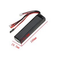 rc transmitter - High Quality Walkera Devo7 LiPo Battery V mAh for Futaba JR Walkera Devo WFLY Transmitter rc part