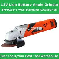 battery angle grinders - 12V Cordless Power Tools V Lion Battery Angle Grinder SM with Standard Accessories Sier Angle Grinder CE GS Grinder