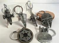 airships for sale - 300pcs hot sale fashion Design Children Star Wars Key buckle Airship key ring baby Keychain for kid gift D524