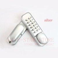 Wholesale simple design mechanical password door lock keyless digital code lock for wooden door