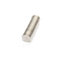 Wholesale 50pcs Neodymium Disc Magnets x1 mm craft fridge magic strong thin mm x mm Round Magnet N40