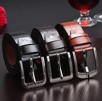 full grain leather - Maikun New H Frame Golden silver Buckle Premium Full Grain Leather Reversible Belt color