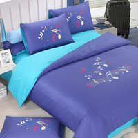 best comforters - 4 Blue and purpl a better li comforter bedding set cotton luxury solid and simple style twin full queen king size best selling set