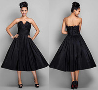 apple new york - Fashion New York Black Evening Gowns Tea Lenght Elastic Satin Sleeveless Open Back Prom Party Gowns Night Club Dress Elie Saab ZY