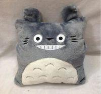 Wholesale TOTORO Minicraft Plush Cushion Doll Despicable Me Rilakkuma Pillow Cartoon plush toy Christams gift N349