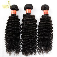 Wholesale 3PCS quot quot Grade A Brazilian Curly Virgin Hair Human Hair Weave Bundles Best Unprocessed Virgin Brazilian Kinky Curly Hair Extensions