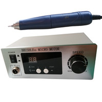 aluminium unit - 70 RPM Non Carbon Brushless Aluminium Shell Dental Micromotor Polishing Unit with lab handpiece dental micro motor